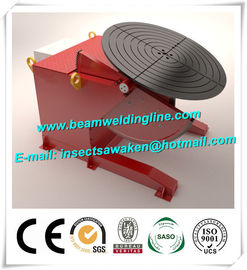 China Bench Top Pipe Welding Positioner , Tilt And Rotate Positioner Welding Turntable factory