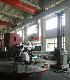 China 0.05 - 1rpm Pipe Welding Positioners For Heavy Duty Loading Turning / Revolve Table factory