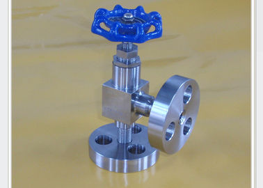 China High pressure angle type needle valve for marine and dredging PN0.6 Mpa to PN120 Mpa DN6 mm factory