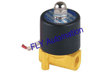 China 2W025-06 UD-6 Normal Temperature Pneumatic Power Standard Brass Water Solenoid Valves factory