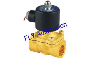 """China 2W200-20 Orifice 20mm 3/4"""" Pilot Diaphragm Drive Brass Material Water Solenoid Valves factory"""